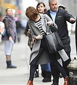 Emma Stone Arrives at Studio 54 - November 12