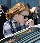 Emma Stone Arrives at LAX Airport - May 6