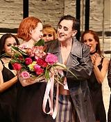 Emma Stone at Cabaret at Roundabout Theatre Companys Studio 54 - November 11