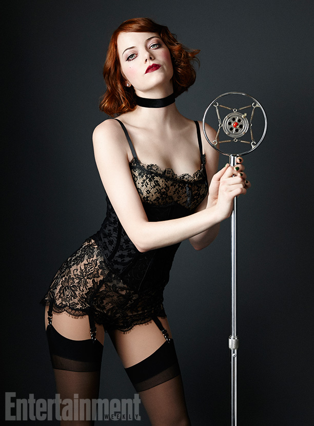 Emma Stone as Sally Bowles in 'Cabaret'