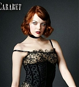 Emma Stone for Broadway's Cabaret