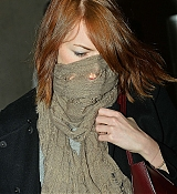 Emma Stone Arriving at LAX Airport - October 23