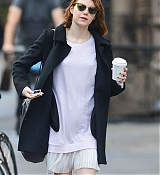 Emma Stone in New York City - November 24