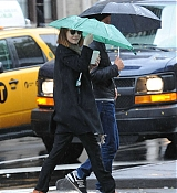 Emma Stone and Andrew Garfield In New York City - October 23