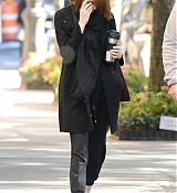 Emma Stone in NYC - October 29