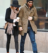 Emma Stone And Andrew Garfield in NYC - December 29