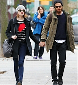 Emma Stone and Andrew Garfield in NYC - November 25