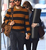 Emma Stone in In Tribeca With Andrew - September 15