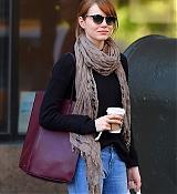 Emma Stone In West Village - September 17