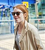 Emma Stone Arrives at Nice Airport - May 16