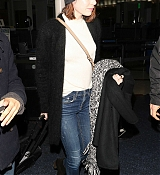 Emma Stone Arrives at LAX Airport - January 10