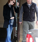 Emma Stone In New York City - January 20