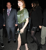 Emma Stone Arrives at  'Birdman Or The Unexpected Virtue Of Ignorance' New York Premiere - October 12