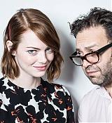 Emma Stone at Birdman Press Junket - October 10