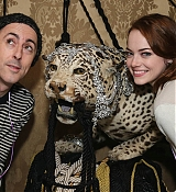 Emma Stone and Alan Cummings at 'Queen of The Night' Event - January 18