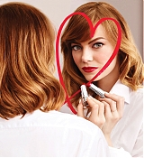 Emma Stone Revlon Love Is On Shoots