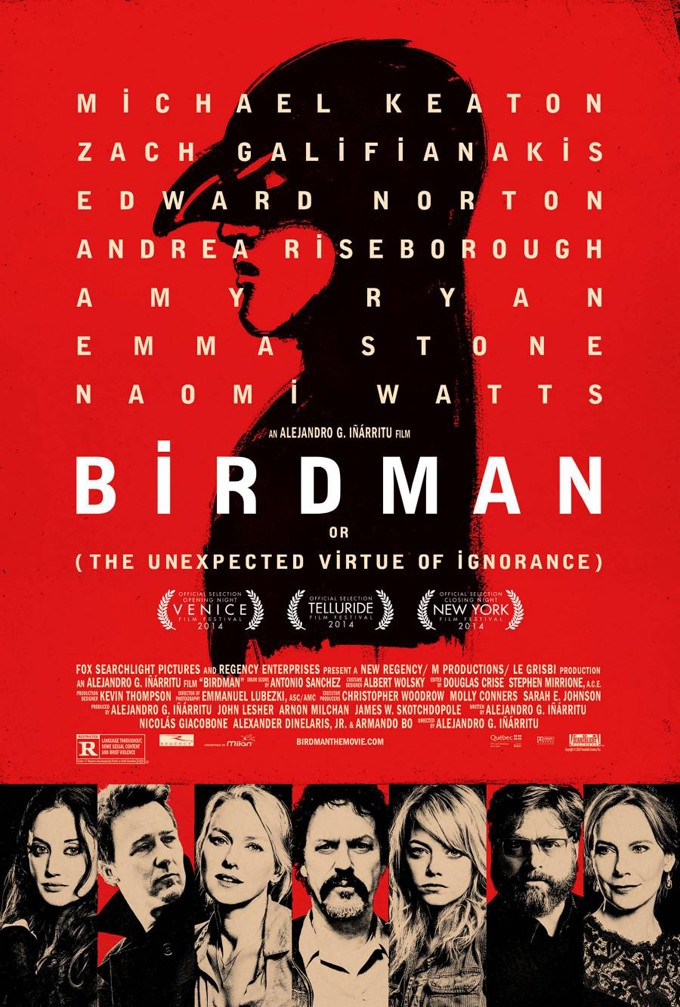 New Birdman Poster