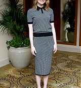 Emma Stone at Irrational Man Press Conference